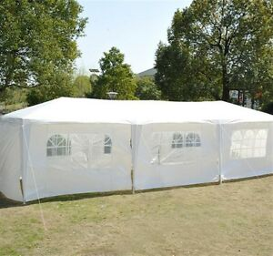 Event Tent For Catering 10' x 30' - White