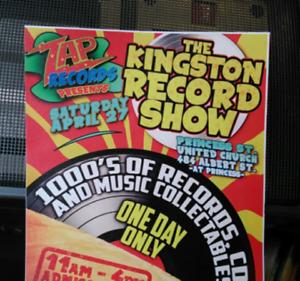 Zap Records presents the KINGSTON RECORD SHOW