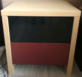 Bedside drawers W50 x D44 x H 51 cms