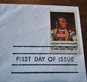 1968 Saluting American Indian 6 Cent First day Cover Kitchener / Waterloo Kitchener Area image 3