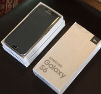>> Samsung s6* --*32GB! >> UNLOCKED > BLACK>MINT! In BOX >WRNTY!