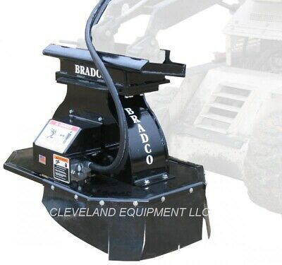 New Bradco Sg15 Mini Stump Grinder Attachment - Vermeer Mini Skid Steer Loader
