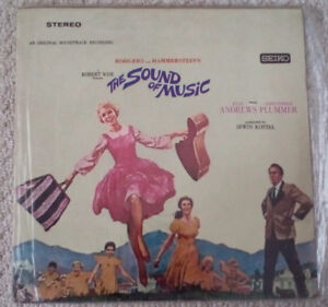 60's The Sound Of Music Soundtrack vinyl record