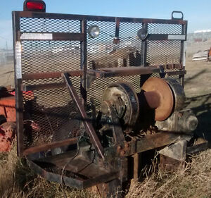Braden MS 20 Mechanical Winch/ Headache Rack