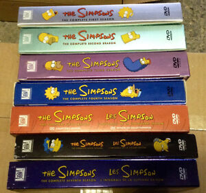 The Simpsons Season 1-7