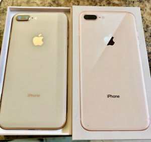 iPhone 8 Plus Gold 256GB WARRANTY ENDS June 28, 2019