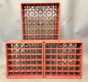 Lot of 4 Assorted Glassware Travelling Crates