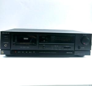Vintage Sony TC-FX120 Single Cassette Deck Made in Japan