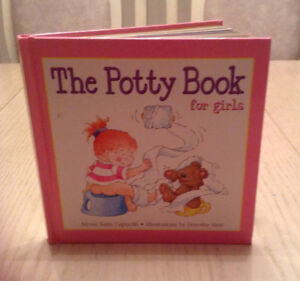 THE POTTY BOOK FOR GIRLS - HARDCOVER