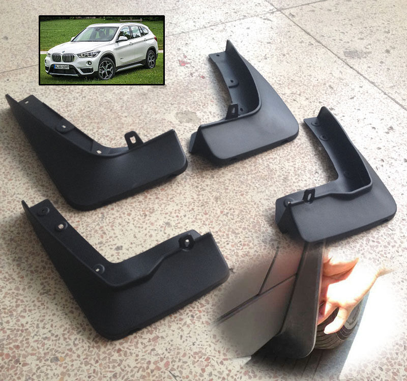 FIT FOR BMW X1 F48 2016 2017 MOLDED FENDER MUD FLAP SPLASH GUARD MUDGUARDS