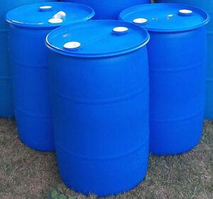 45 Gallon Plastic Drums $35.00 each
