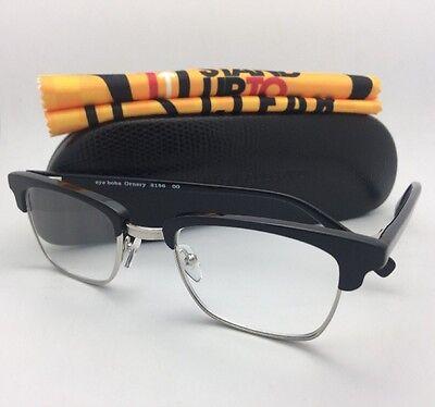 Readers EYE•BOBS Eyeglasses ORNERY 2156 00 +1.00 48-25 Silver & Black Frame