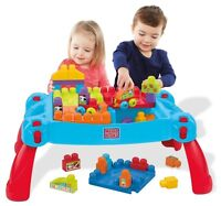 NEW: Mega Bloks First Builders Build 'N Learn Table Building Set