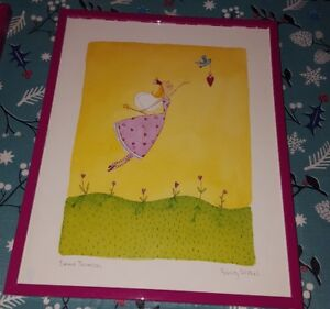 Fairy themed prints set in 8x10 pink  - Girls Room Décor