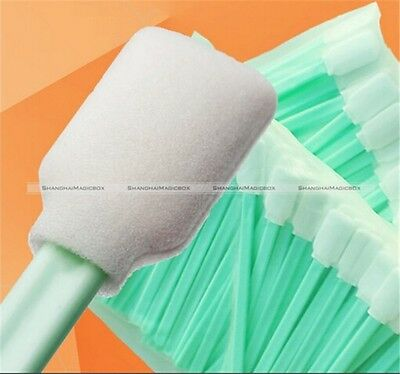 50pcs Cleaning Swabs For Roland Mimaki Mutoh Solvent Resistant Printer S7