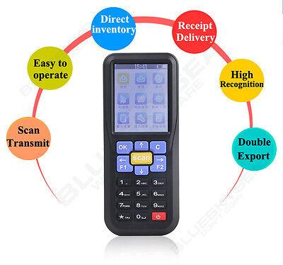 2.4 Handheld Barcode Laser Scanner Data Inventory Collector Reader Scanning Gun