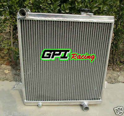 GPI racing aluminum alloy radiator Triumph TR6 1969-1974 /TR250 (Triumph Tr6 Racing)