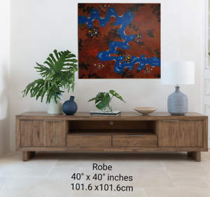 New original dot painting FREE delivery Perth area view today