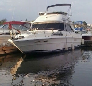 Sea Ray 37ft LOA Flybridge  RELISTED AND REDUCED