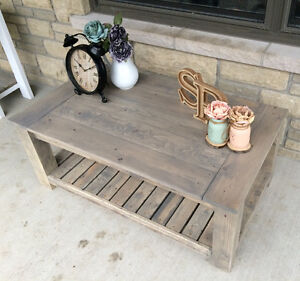 Rustic Country Chic Coffee tables with matching side tables Belleville Belleville Area image 6