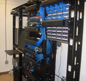 Office Telephone & Data Network Cabling. Need a Phone System? West Island Greater Montréal image 3