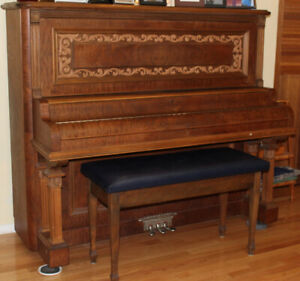 Upright Baby Grand Piano