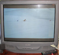 Old Style Sony TV