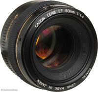 Canon EF 50mm F1.4 USM 5D MKII MKIII 6D 7D 1DS IV V 70D 60D