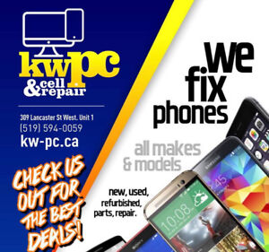 REPAIRS, CELL PHONE REPAIRS ON SPOT WHILE YOU WAIT KWPC CELL