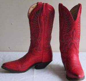 Red Cowboy/girl Boots
