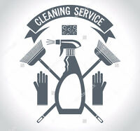 Husband & Wife Cleaning Team!