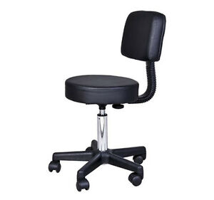 Hydraulic Adjustable Salon Rolling Stool Tattoo Facial Massage S