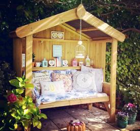 Cottage arbour