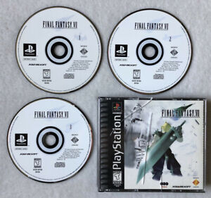 Final Fantasy 7 Ps1 BLACK LABEL!