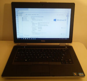"""Dell Latitude 14"""" Core i7  2.9 GHz with SSD and Nvidia graphics"""
