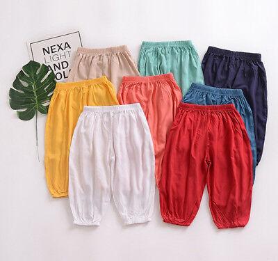 - Newborn Baby Boys Girls Harem Pants Trousers Toddlers Jogging Bottoms Sweatpants