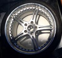 4 jantes/rims BMW SSR SSF, OEM