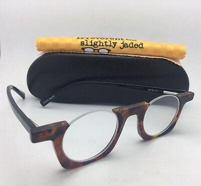 Readers EYE•BOBS Eyeglasses OY! 2287 19 +1.50 Tortoise and Black Half Rim Frames