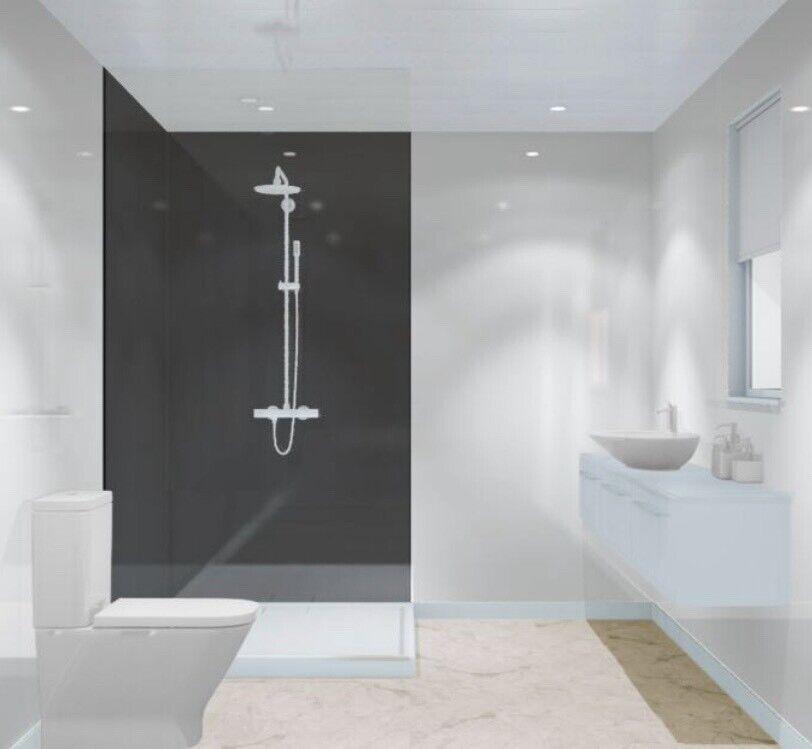 ACRYLIC WET WALL PANELS SHOWER KITCHEN BATHROOM WETWALL ...