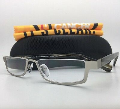 Readers EYE•BOBS Eyeglasses PEEK PERFORMER 2144 H1 +1.50 Matte Silver-Horn Frame