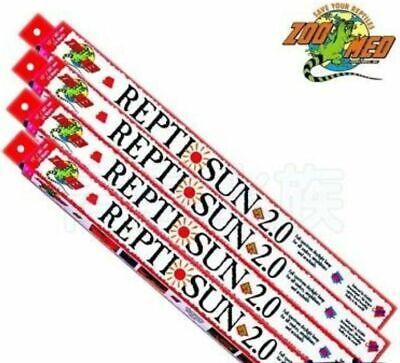 "Zoo Med Repti Sun 2.0 15"" fluorescent bulb Fits 16"" Strip Lights"