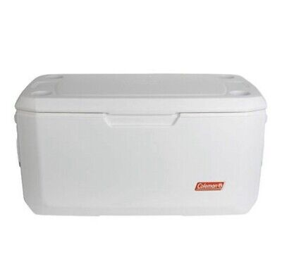 Marine Portable Cooler 120 Qt Leak-Resistant Fishing Camping Ice Storage Chest