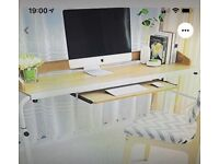 Table/Desk/Home Office/Overbed. Versatile, adjustable height and width. New and boxed