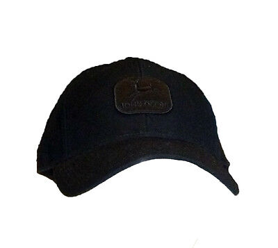 Vintage Fitted Cap (Einzelstück John Deere Cap Vintage Schwarz  7 1/4 Unisex Fitted Snapback Cappy)
