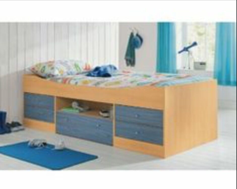 Single Pine Bed Argos