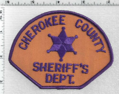 Cherokee County Sheriff (South Carolina) 1st Issue Shoulder Patch