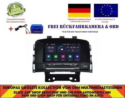 AUTORADIO DVD GPS NAVI ANDROID 9.0 4GB BT DAB+ OPEL CASCADA ASTRA J 10-14