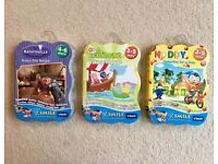 3 x brand new, still sealed children's Vtech video games for use with V Smile learning system