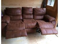 Reclining Harvey's Sofa