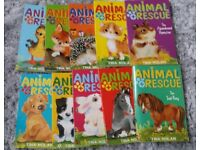 ANIMAL RESCUE STORY BOOKS COLLECTION X 10